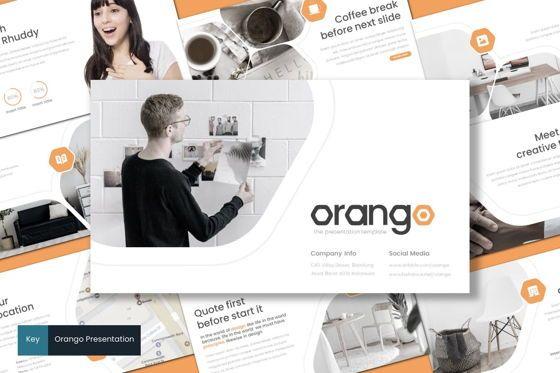 Presentation Templates: Orango - Keynote Template #08711