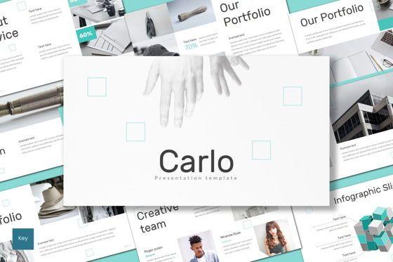 Presentation Templates: Carlo - Keynote Template #08716