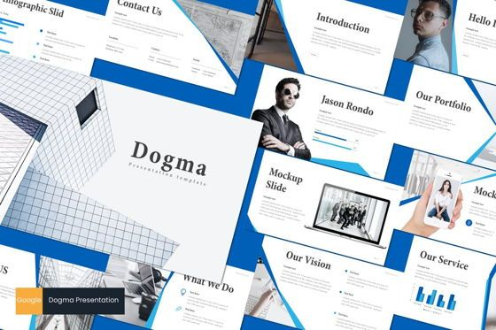 Presentation Templates: Dogma - Google Slides Template #08719