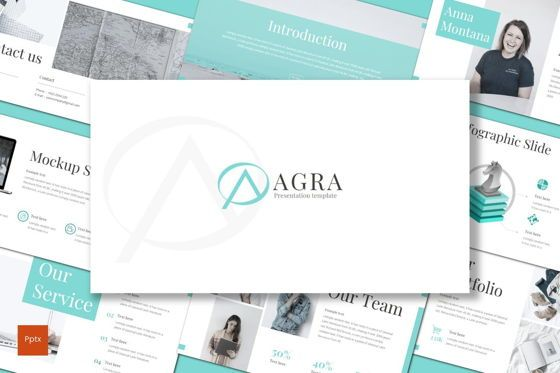 Presentation Templates: Agra - PowerPoint Template #08720