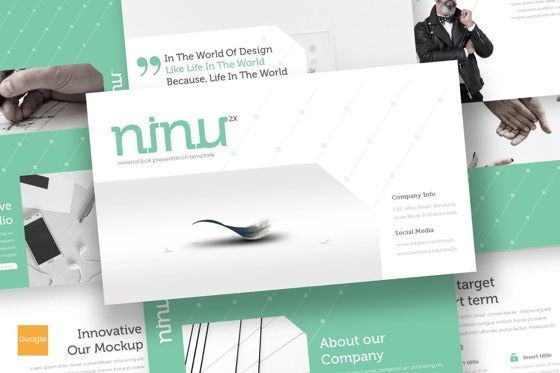Presentation Templates: Ninu - Google Slides Template #08722