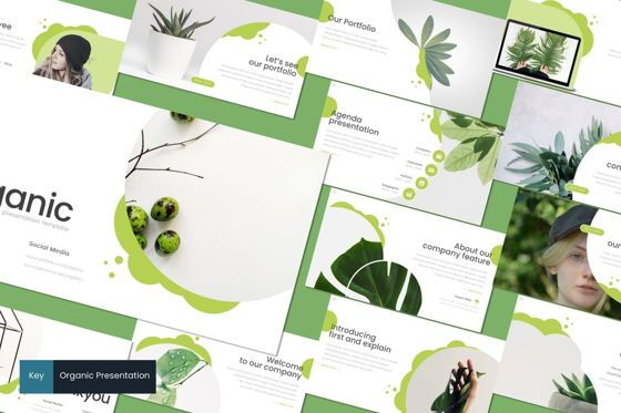 Presentation Templates: Organic - Keynote Template #08723