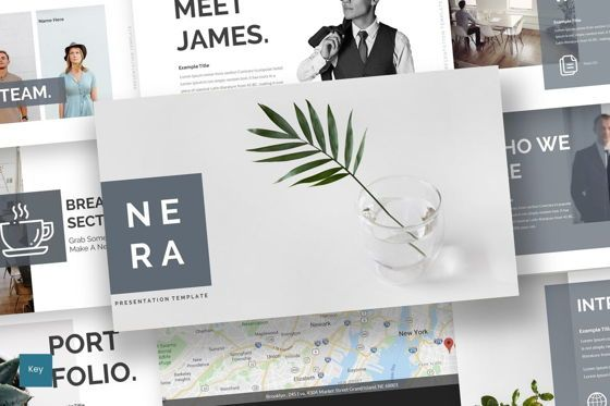 Presentation Templates: Nera - Keynote Template #08725