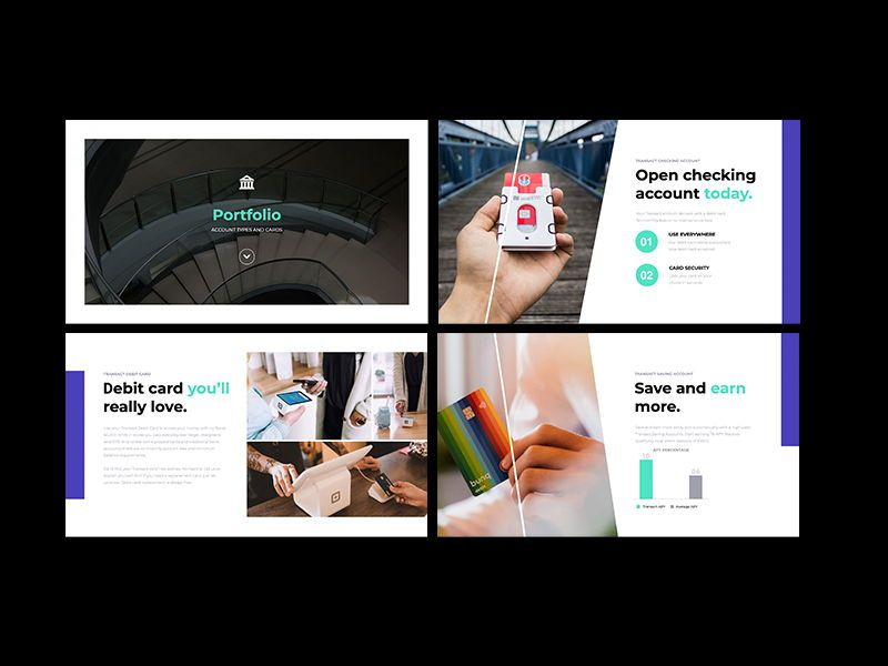 Transact Online Banking Googleslide Template, Slide 7, 08727, Presentation Templates — PoweredTemplate.com