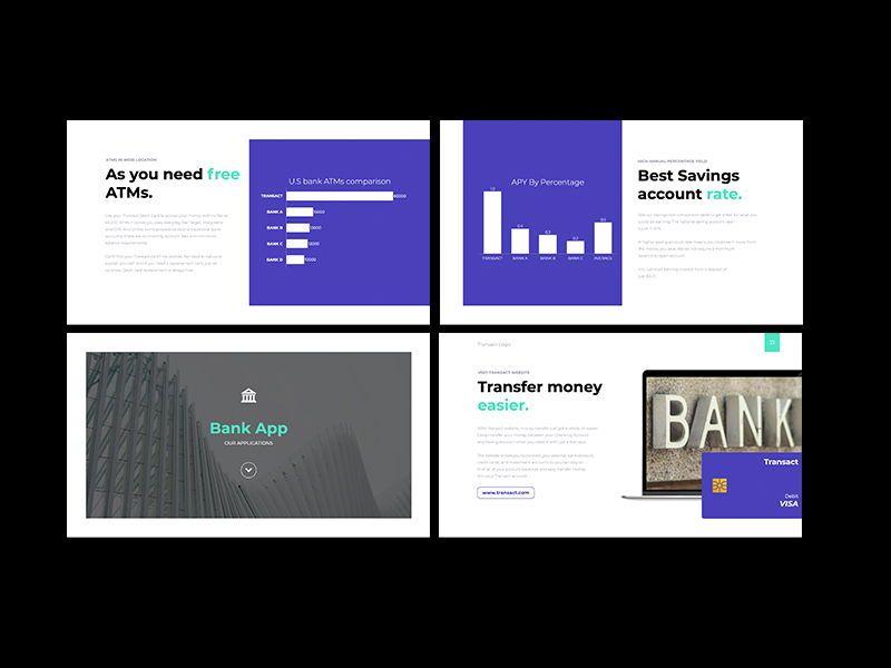 Transact Online Banking Googleslide Template, Slide 9, 08727, Presentation Templates — PoweredTemplate.com