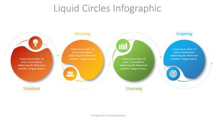 Infographics: Liquid Circles Infographic #08729