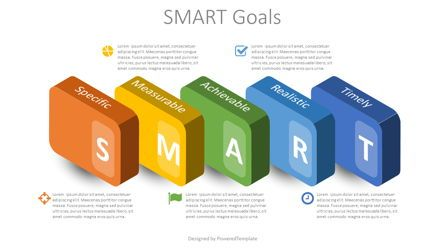Business Models: SMART Goals Setting Infographic #08739
