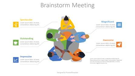 Presentation Templates: Brainstorming Meeting #08742