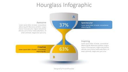Infographics: Hourglass Infographic #08757