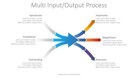 Process Diagrams: Multi Input Output Process #08762