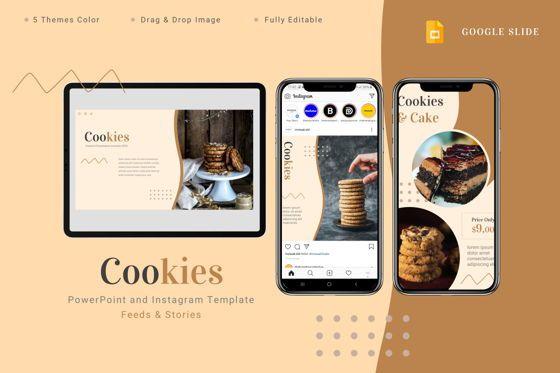 Presentation Templates: Cookies - Google Slides Template #08772