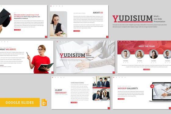 Presentation Templates: Yudisium - Google Slides Template #08775