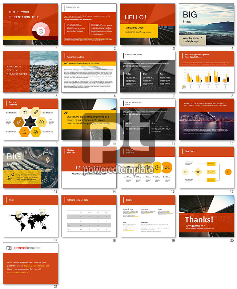 Sandy Google Slides Free Presentation Template