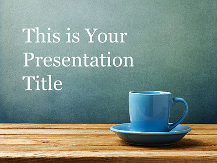 : Cup of Coffee Free Presentation Template #00002