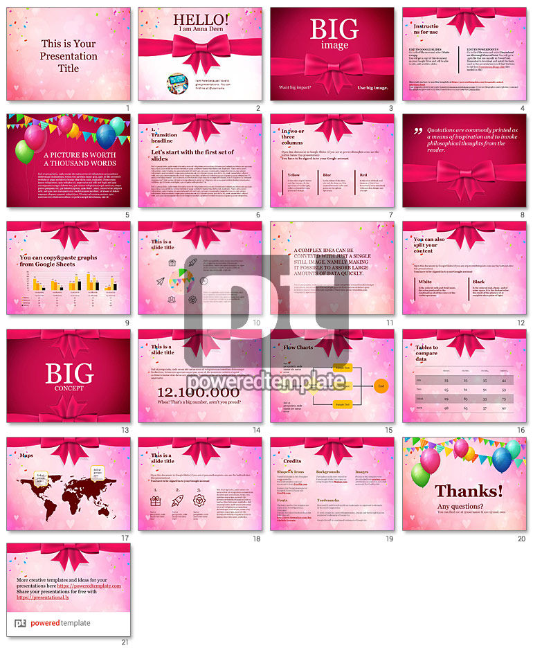 Romantic Free Google Slides Theme