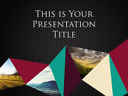 : Polygonal Free Google Slides Presentation Template #00014