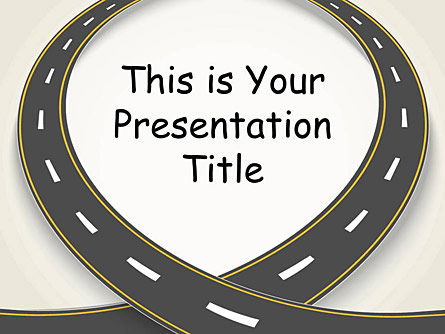 : Windy Road Free Google Slides Presentation Template #00017
