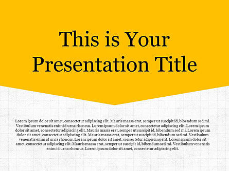: Simplicity Free Google Slides Presentation Template #00019