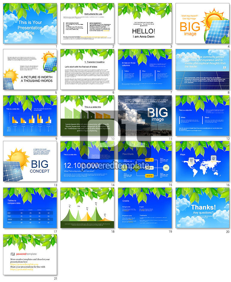 Clean Energy Google Slides Theme Template