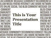 : Social Media Google Slides Theme Free Template #00028