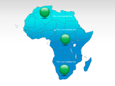 Africa PowerPoint Map Slide 10