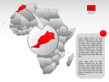 Africa PowerPoint Map Slide 11