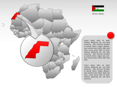 Africa PowerPoint Map Slide 12