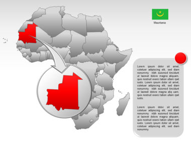 Africa PowerPoint Map Slide 13