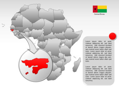 Africa PowerPoint Map Slide 15