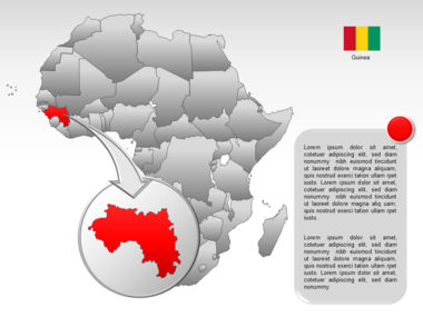 Africa PowerPoint Map Slide 16