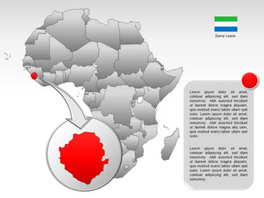 Africa PowerPoint Map Slide 17