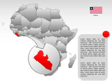 Africa PowerPoint Map Slide 18