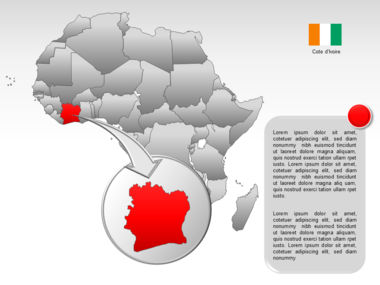 Africa PowerPoint Map Slide 19