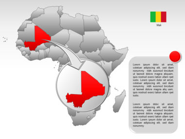 Africa PowerPoint Map Slide 24