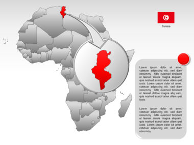 Africa PowerPoint Map Slide 26
