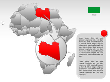 Africa PowerPoint Map Slide 27