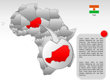 Africa PowerPoint Map Slide 28