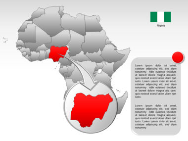 Africa PowerPoint Map Slide 29