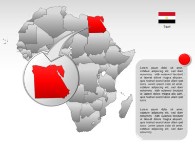 Africa PowerPoint Map Slide 30