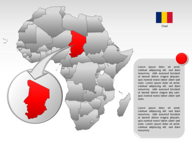 Africa PowerPoint Map Slide 31