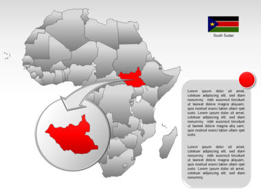 Africa PowerPoint Map Slide 32