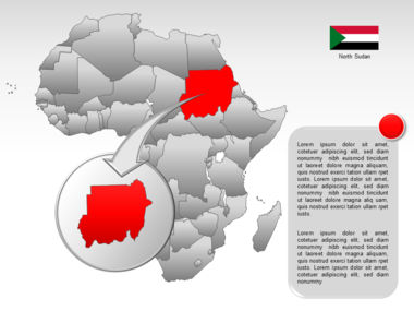Africa PowerPoint Map Slide 33