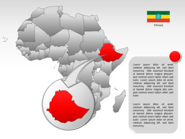Africa PowerPoint Map Slide 34