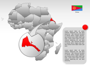 Africa PowerPoint Map Slide 35