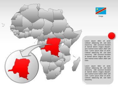 Africa PowerPoint Map Slide 40