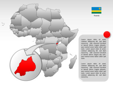 Africa PowerPoint Map Slide 41