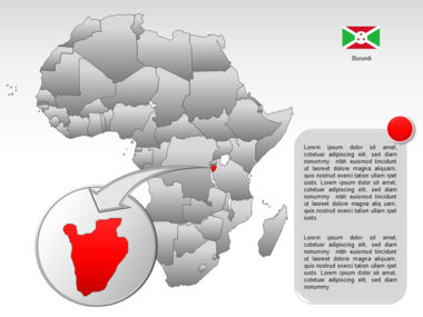 Africa PowerPoint Map Slide 42