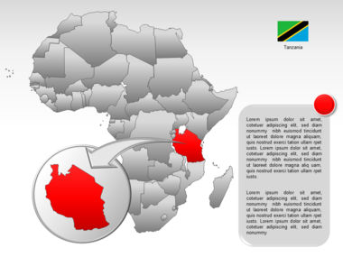 Africa PowerPoint Map Slide 44