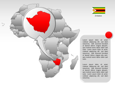 Africa PowerPoint Map Slide 48