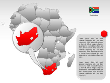 Africa PowerPoint Map Slide 51